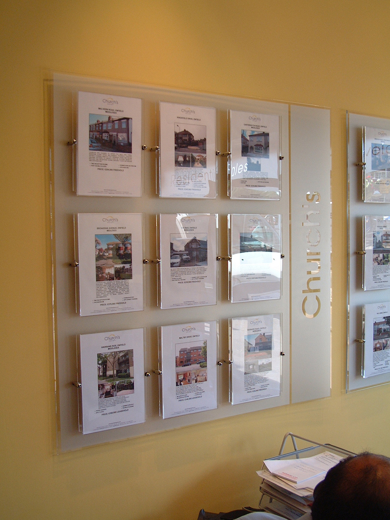 Oad creative design wall display interior displays for Picture wall display