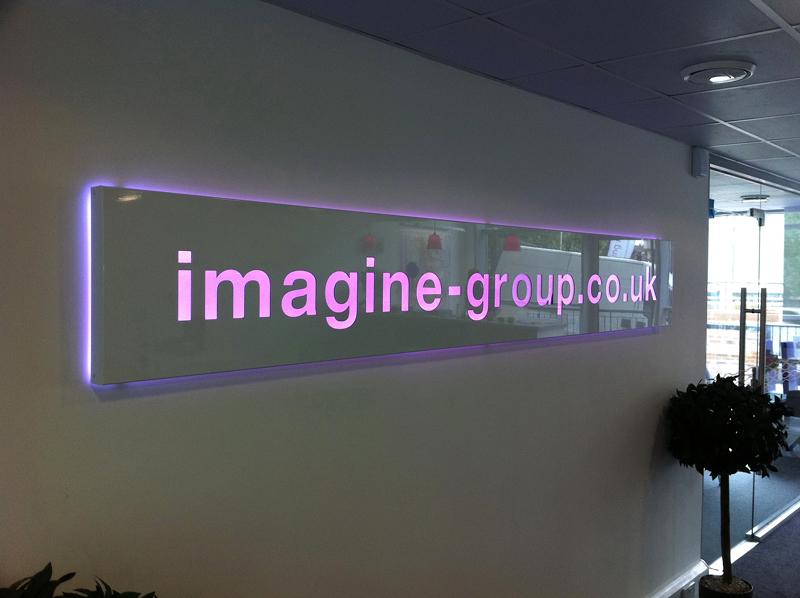 Oad Creative Design Wall Logos Interior Displays